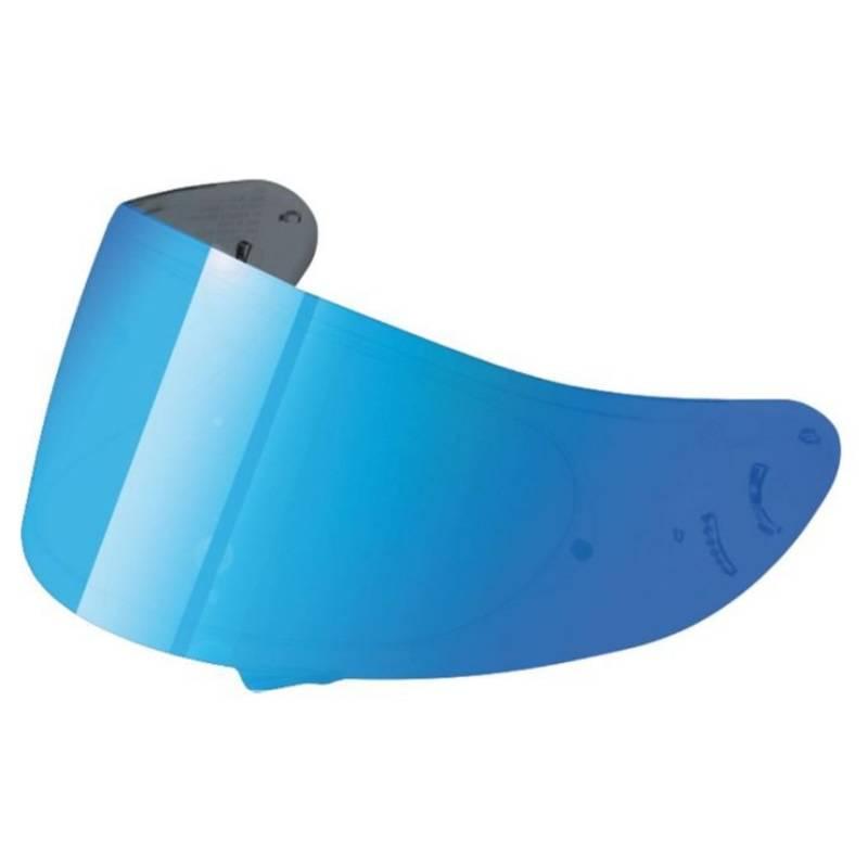 Shoei Visier CNS-1 blau verspiegelt