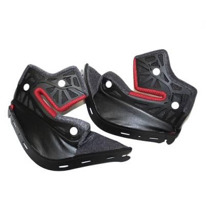 Shoei Wangenpolster NXR, schwarz