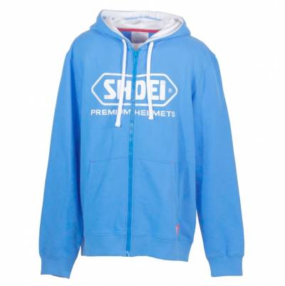 Shoei Zip-Hoody, blau