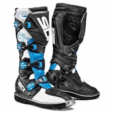 Sidi Stiefel X-Treme, weiß-hellblau-schwarz