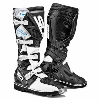 Sidi Stiefel X-Treme, weiß-schwarz