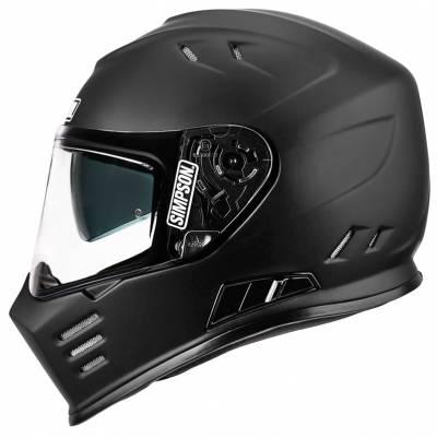 Simpson Helm Venom, schwarz matt