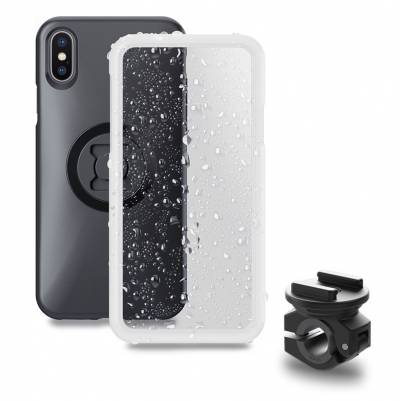 SP Connect Moto Mirror Bundle (BikeMount + beide Cover), iPhone/Samsung