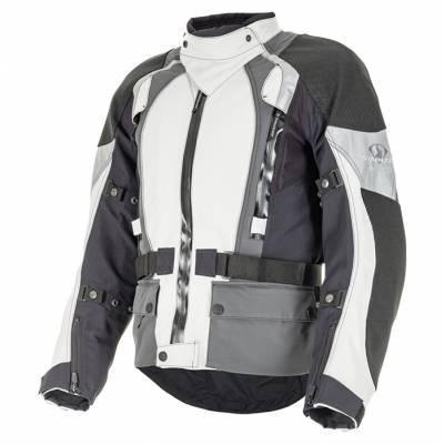 Stadler Damen Jacke SuperVent 3 Pro, hellgrau-grau-schwarz