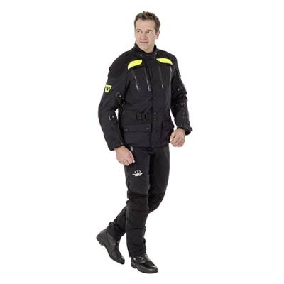 Stadler Jacke AirDraft Pro, schwarz-neongelb