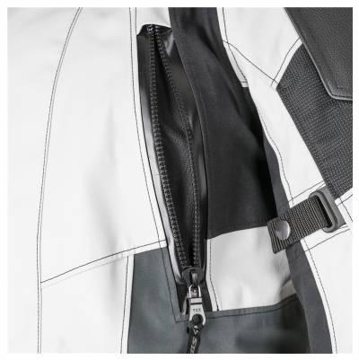 Stadler Jacke Track 2 Pro GTX, hellgrau-grau-schwarz