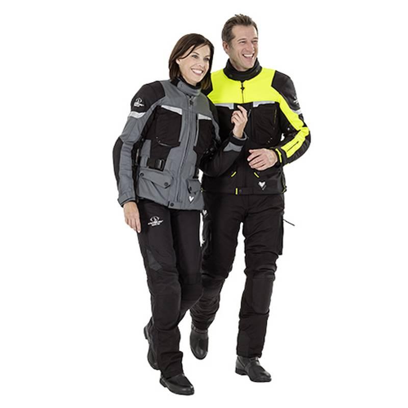 Stadler Jacke Voyager GTX,  Damen schwarz-grau