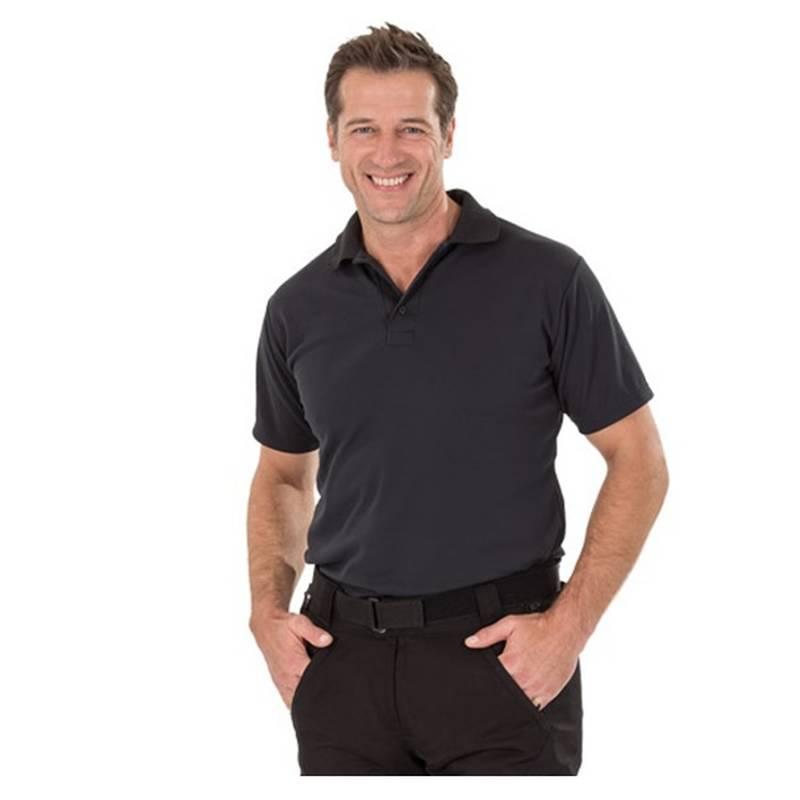 Stadler Shirt Funktions-Polo, schwarz