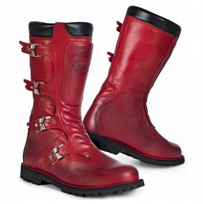 Stylmartin Stiefel Continental, rot