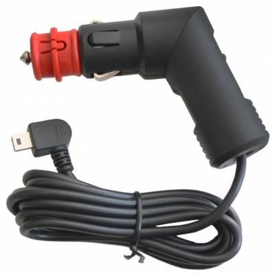 SW-MOTECH KFZ-Ladekabel Mini-USB für Zigarettenanzünder, schwarz