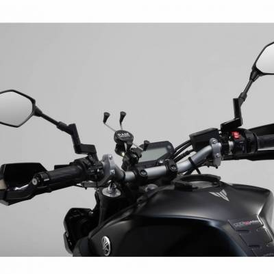 SW-MOTECH Universal X-Grip-Kit für große Smartphones inkl. Kugel schwarz