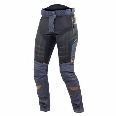 Trilobite Damen Hose Airtech, Länge 32, blau-schwarz