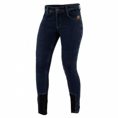 Trilobite Damen Jeans Allshape Fine Fit, Länge 32, blau