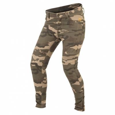 Trilobite Damen Jeans Micas Urban, Länge 32, Camo grün