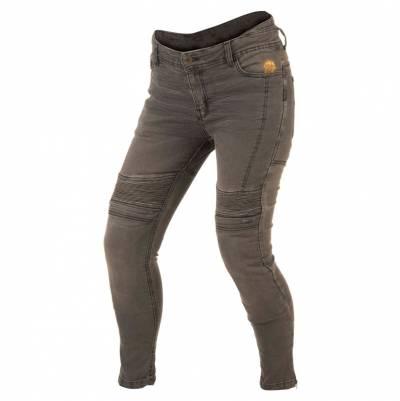 Trilobite Damen Jeans Micas Urban, Länge 32, grau