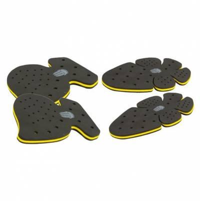 Trilobite Protektoren-Set Knie+Hüfte, schwarz-gelb