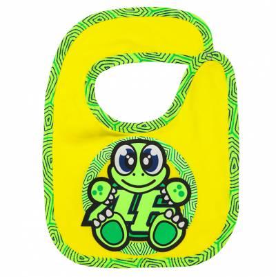 VR46 Baby Latz Bib Turtle, gelb-grün
