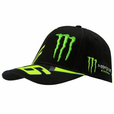 VR46 Cap Monster. schwarz-gelb-grün