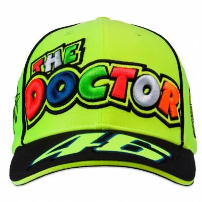 VR46 Cap The Doctor, schwarz-neongelb