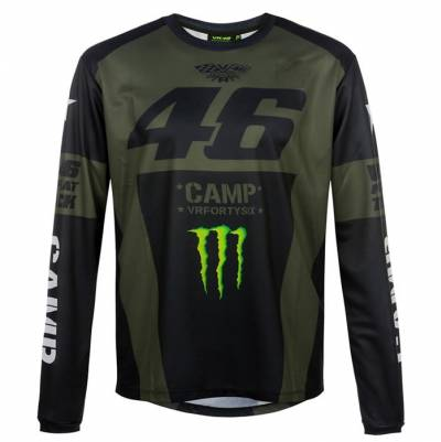 VR46 Herren Shirt 46 Monster Camp