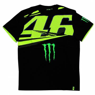 VR46 Herren T-Shirt Monster Monza Man Black