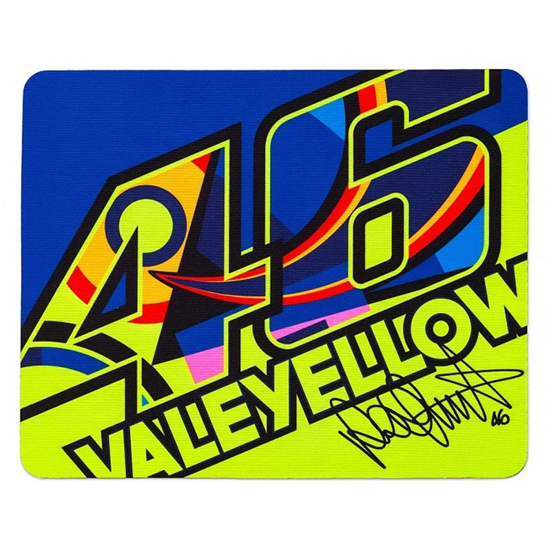 VR46 Mouse Pad, multicolor