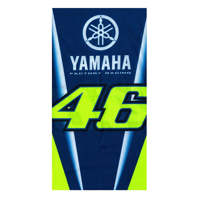 VR46 Schlauchtuch Yamaha Racing, blau-neongelb