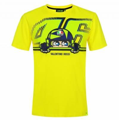 VR46 T-Shirt Cupolino, fluogelb