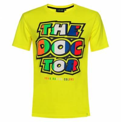 VR46 T-Shirt The Doctor, fluogelb