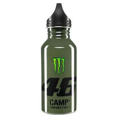 VR46 Trinkflasche Monster Camp 46, militär grün