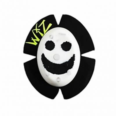 mit Funken Wiz Knieschleifer mit Titan Smiley in Rot-Weiß Sparky