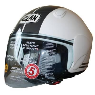 X-Lite B-Ware - Helm N31 Flashback plus, weiß-schwarz