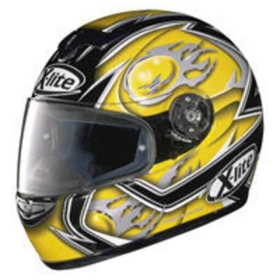X-Lite B-Ware - Helm X-601 Fireball, schwarz-gelb-grau