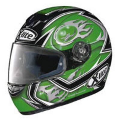 X-Lite B-Ware - Helm X-601 Fireball, schwarz-grün-grau