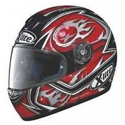 X-Lite B-Ware - Helm X-601 Fireball, schwarz-rot-grau