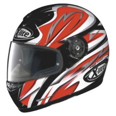 X-Lite B-Ware - Helm X-601 Lightning, schwarz-rot-grau
