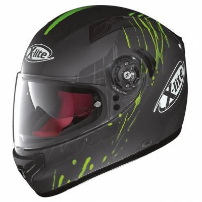 X-Lite B-Ware Helm X-661 Spox N-Com #8, schwarz-grün-matt