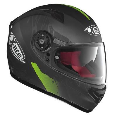 X-Lite Helm X-661 Spox N-Com, schwarz-grün-matt