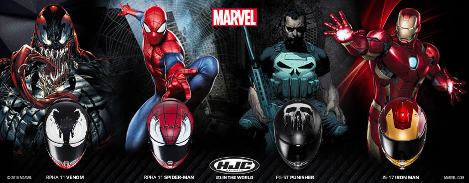 HJC Marvel Collection