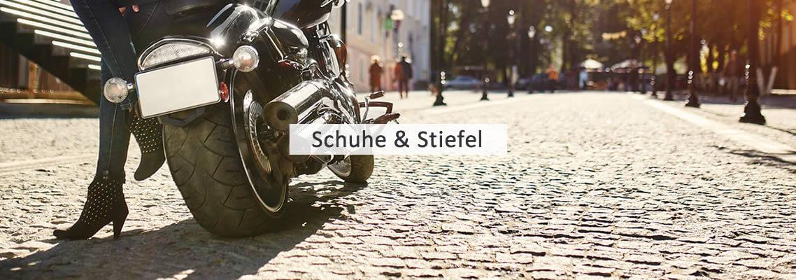Damen Motorradstiefel und Schuhe